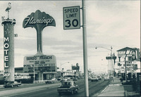 1971. Las Vegas Strip.